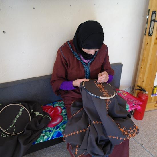 coopérative de femmes huile d'argan