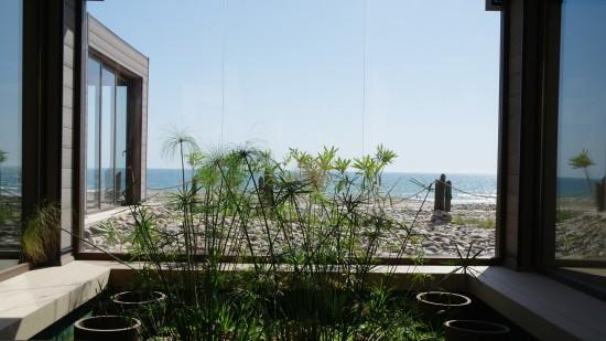 paradis plage salle de yoga