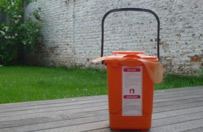 bac orange bruxelles propreté