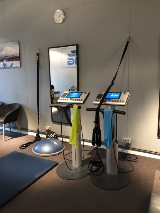 ems body training studio bruxelles machines