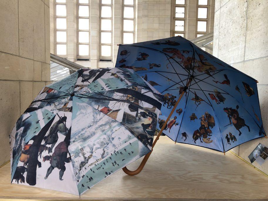 parapluie merchendising bruegel