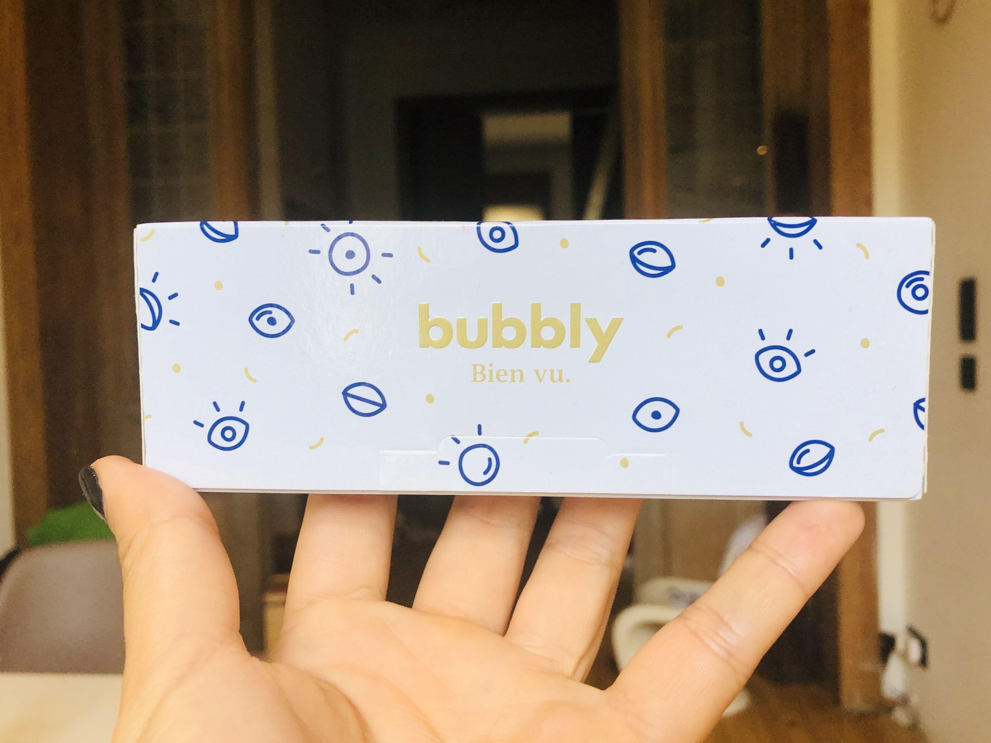 bubbly boîte d'essai