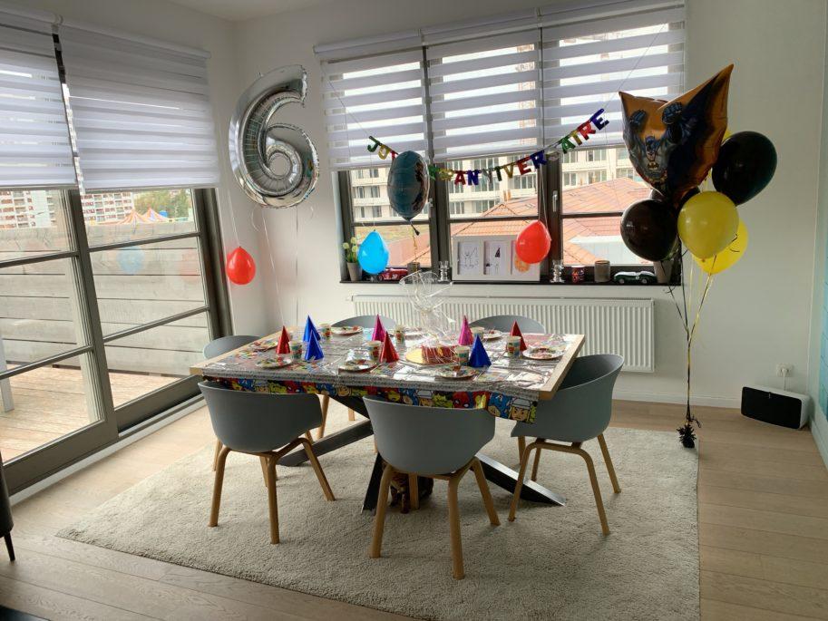 anniversaire 6 ans garçon décoration